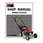 Official Honda HRR216VXA HRR216VYA Factory Service Manual