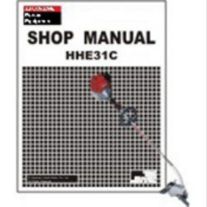 Official Honda HHE31C Stick Edger Shop Manual