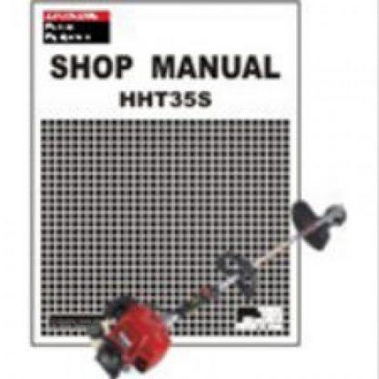 Official Honda HHT35S Trimmer Shop Manual