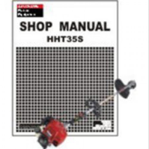 honda hht35s trimmer shop manual rh repairmanual com