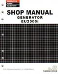 Official Honda EU2000i Generator Shop Manual