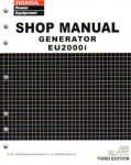 Official Honda EU3000i Handi Generator Shop Manual