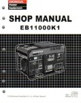 Official Honda EB11000K1 Generator Shop Manual