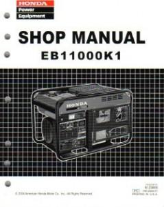honda harmony en2500 generator manual