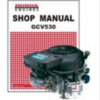 Official Honda GCV530 Engine Factory Shop Manual