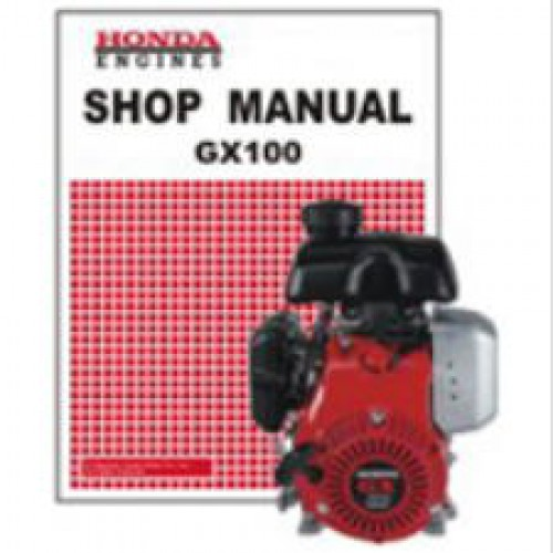 Official Honda GX100 Engine Factory Shop Manual