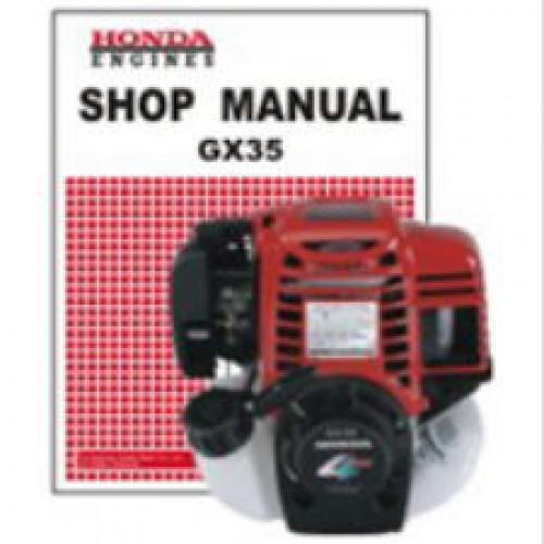 honda gx35 engine shop manual rh repairmanual com honda gx35 engine service repair shop manual honda gx35 service manual