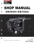 Official Honda EB5000i And EB7000i Generator Shop Manual