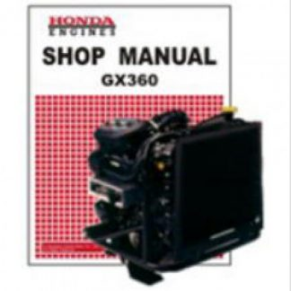 Official Honda GX360 Small Engine Factory Shop Manual