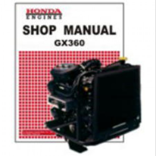 honda gx360 small engine shop manual rh repairmanual com honda gx360 shop manual