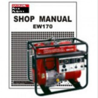 Official Honda EW170 Generator Shop Manual