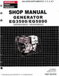 Official Honda EG3500X And EG5000X Generator Shop Manual