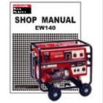 Official Honda EW140 Generator Shop Manual