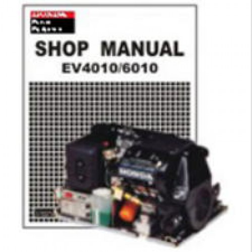 honda ev4010 ev6010 evd4010 evd6010 generator shop manual Backup Generator