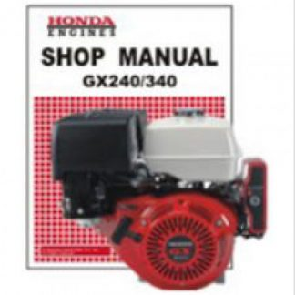 Official Honda GX240K0 GX340K0 Engine Factory Shop Manual