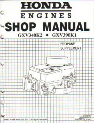 honda gx270 gx390 gasoline fueled engine owners manual rh repairmanual com Dell GX270 Specs Honda GX270