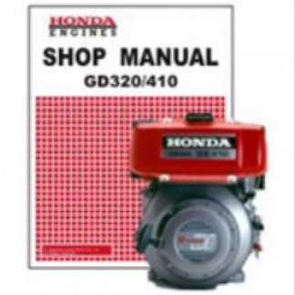 Official Honda GD320 GD410 Engine Factory Shop Manual