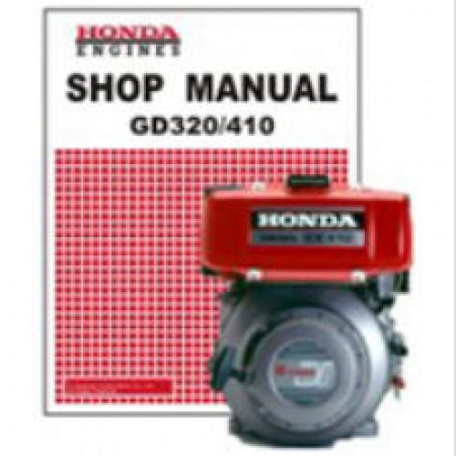 Honda GD320 GD410 Engine Shop Manual