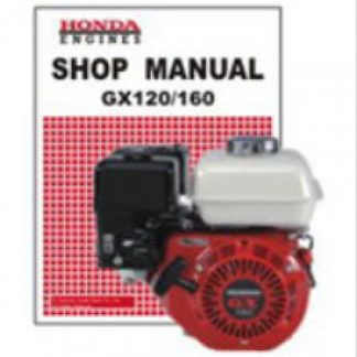 Official Honda GX120K1 GX160K1 Rammer Engine Shop Manual