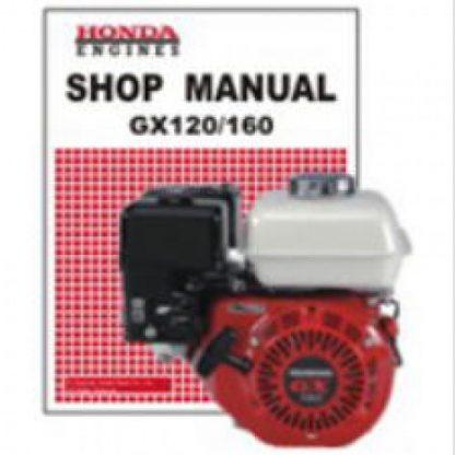 Official Honda GX120K1 GX160K1 Rammer Engine Shop Manual