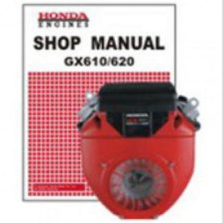 Official Honda GX610K0 GX620K0 Engine Factory Shop Manual