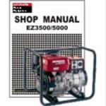 Official Honda EZ3500 And EZ5000 Generator Shop Manual