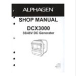 Official Honda DCX3000 Generator Shop Manual