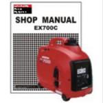 Official Honda EX700c Generator Shop Manual