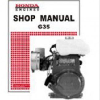 Official Honda G35 Engine Shop Manual
