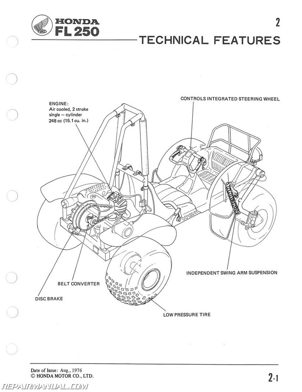 1977 Honda Odyssey Wiring Diagram Opinions About 1999 Shadow 1984 Fl250 Service Manual Stereo