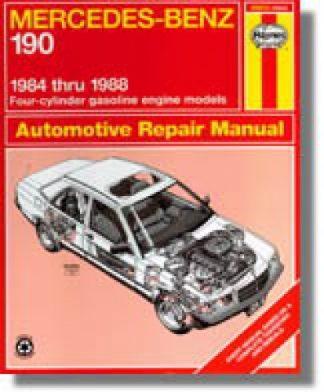 Haynes Mercedes-Benz 190 1984-1988 Auto Repair Manual