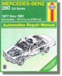 Haynes Mercedes-Benz 280 123 Series 1977-1981 Auto Repair Manual