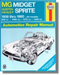 Haynes MG Midget Austin-Healey Sprite 1958-1980 Auto Repair Manual