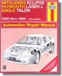 Haynes Mitsubishi Eclipse Plymouth Laser Eagle Talon 1990-1994 Auto Repair Manual