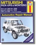Haynes Mitsubishi Pick-up Montero 1983-1996 Auto Repair Manual