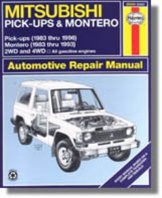 Haynes Mitsubishi Pick-up Montero 1983-1996 Auto Repair Manual