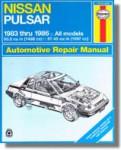 Haynes Nissan Pulsar 1983-1986 Auto Repair Manual