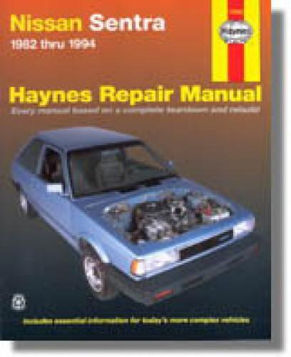 haynes nissan sentra 1982 1994 auto repair manual rh repairmanual com haynes manual nissan sentra haynes repair manual nissan sentra pdf