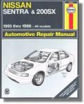 Haynes Nissan Sentra 200 SX 1995-2006 Auto Repair Manual