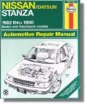 Haynes Nissan Stanza 1982-1990 Auto Repair Manual