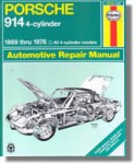 Haynes Porsche 914 4-cyl 1969-1976 Auto Repair Manual