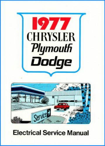 1977 Dodge vogue Owner manual