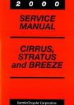 Cirrus Stratus and Breeze Service Manual 2000