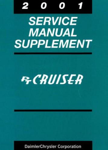 Chrysler PT Cruiser Service Manual Supplement 2001
