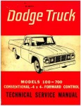 Used Dodge Truck 100-700 Factory Service Manual