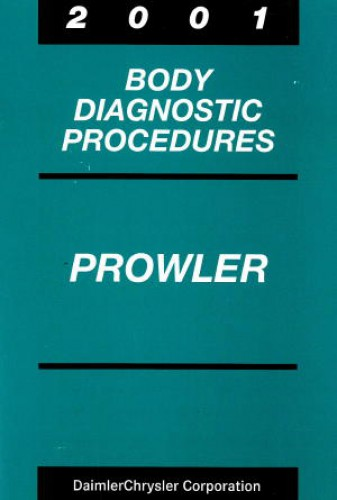 Plymouth Prowler Body Diagnostic Procedures Manual 2001 Used