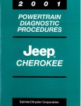 Jeep Cherokee Powertrain Diagnostic Procedures Manual 2001 Used