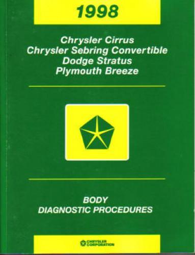 2005 dodge stratus diagnostic codes