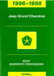 Jeep Grand Cherokee Body Diagnostic Procedures 1996-1998 Used