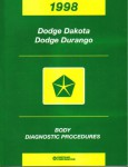 Dodge Dakota Dodge Durango Body Diagnostic Procedures 1998